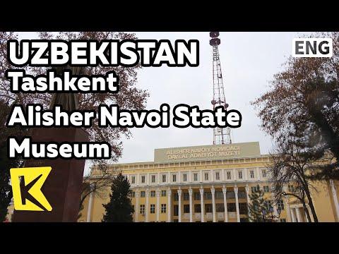 【K】Uzbekistan Travel-Tashkent[우즈베키스탄 여행-타슈켄트]나보이 역사 박물관/Alisher Navoi State Museum/Bronze/Writer