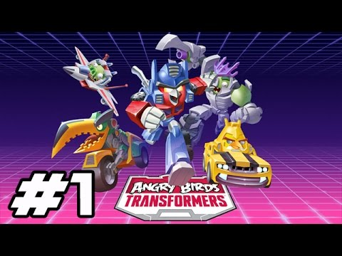 angry birds transformers gameplay walkthrough part 39