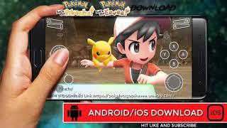 Pokémon Let's Go Pikachu! Android Emulator with APK Download