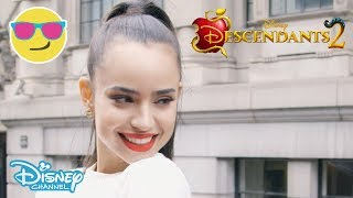 Catch the highlights from Sofia Carson's (A.K.A Evie from Descendan...