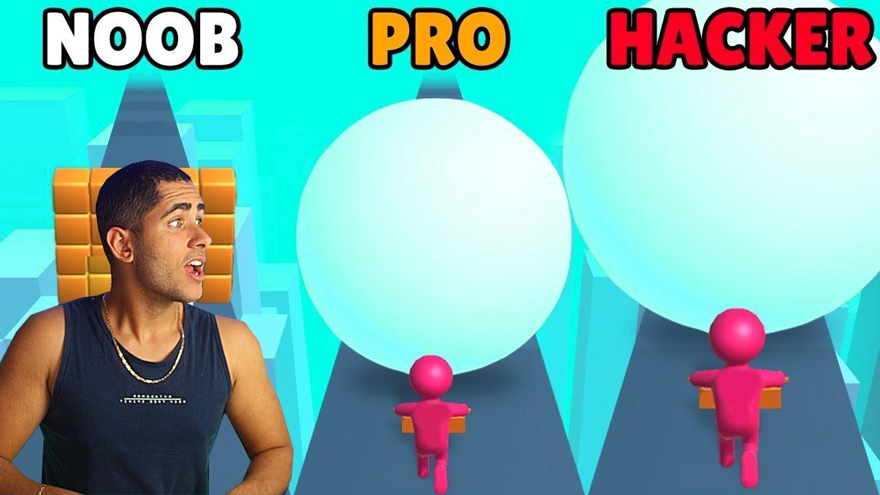 FOMOS DE NOOB vs PRO vs HACKER NO SNOW RUN