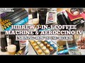 Hibrew Coffee Machine & Aeroccino IV Unboxing + How to Use + Review | Pods Organizer | Lorelin Sia