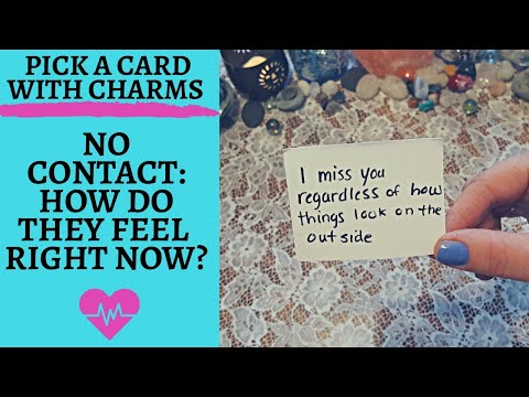 👤💖NO CONTACT: HOW ARE THEY FEELING RIGHT NOW?💖👤|🔮SOULMATE SUNDAY CHARM PICK A CARD🔮