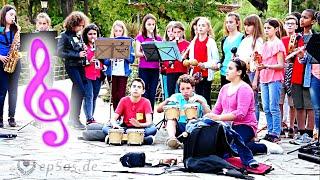 Children who make music for the children.