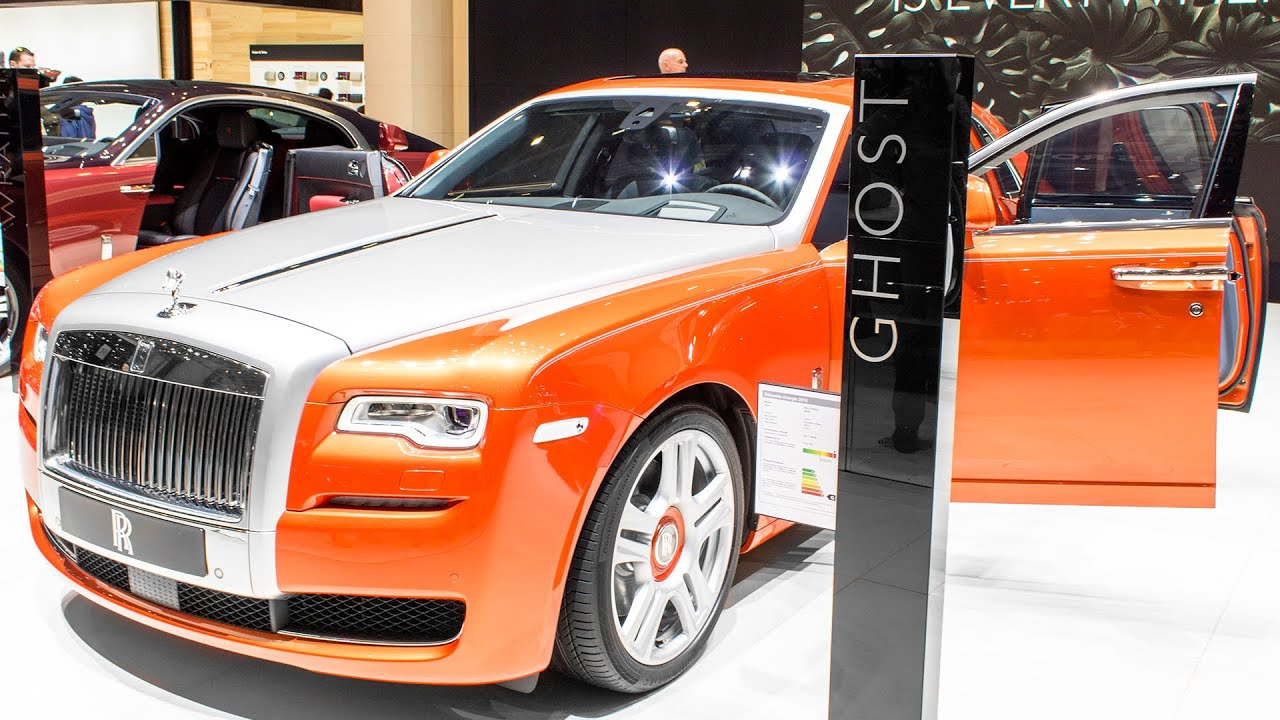 ORANGE ROLLS-ROYCE GHOST II SERIES