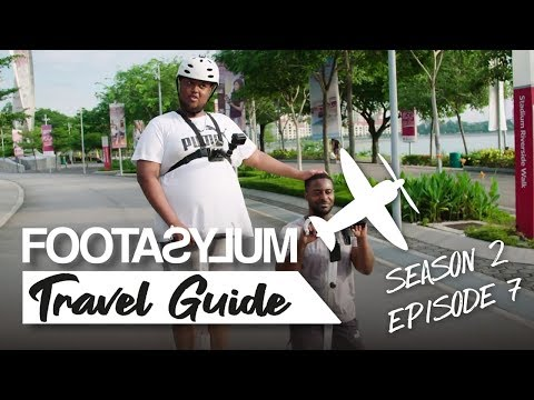 CHUNKZ + LV EAT WORST FRUIT IN SINGAPORE | FOOTASYLUM TRAVEL GUIDE: SOUTHEAST ASIA | EP 7