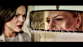 you are my weakness || swan queen angst