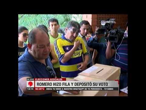 Ministro Romero destacó que fue designado como jurado pero presentó excusa