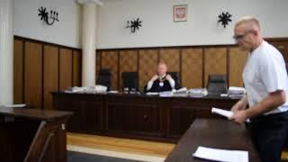 Odważny i świadomy Polak w sądzie - Krzysztof Chudek