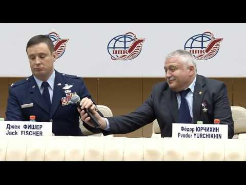 International Space Station Expedition 51-52 Crew News Conference