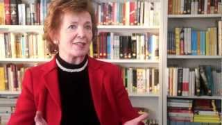 "Former president of Ireland Mary Robinson discusses her book ""Everybody Matters"""