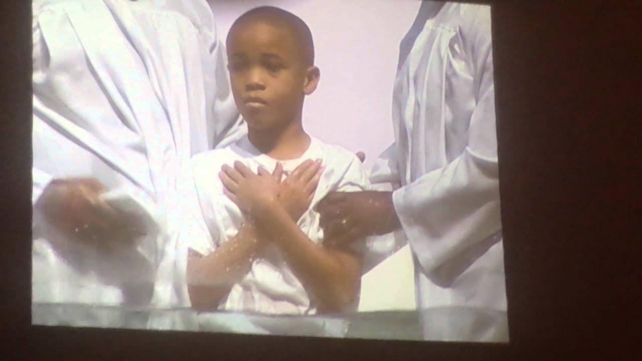 Braydens Baptism Mt Zion Nashville Tn