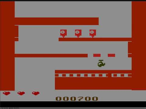 Peril WIP homebrew for atari 2600. first 12 screens, link to playable rom in description