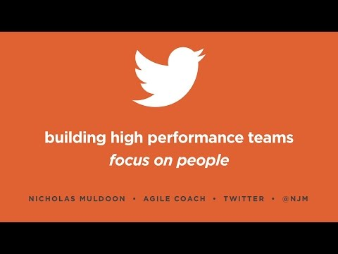 Building High Performance Teams at Twitter with Nick Muldoon