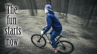 На велосипедах по имантскому лесу - DeeOne