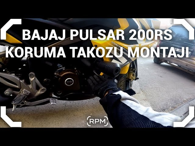 Bajaj Pulsar 200RS Koruma Takozu Montajı [RPM]