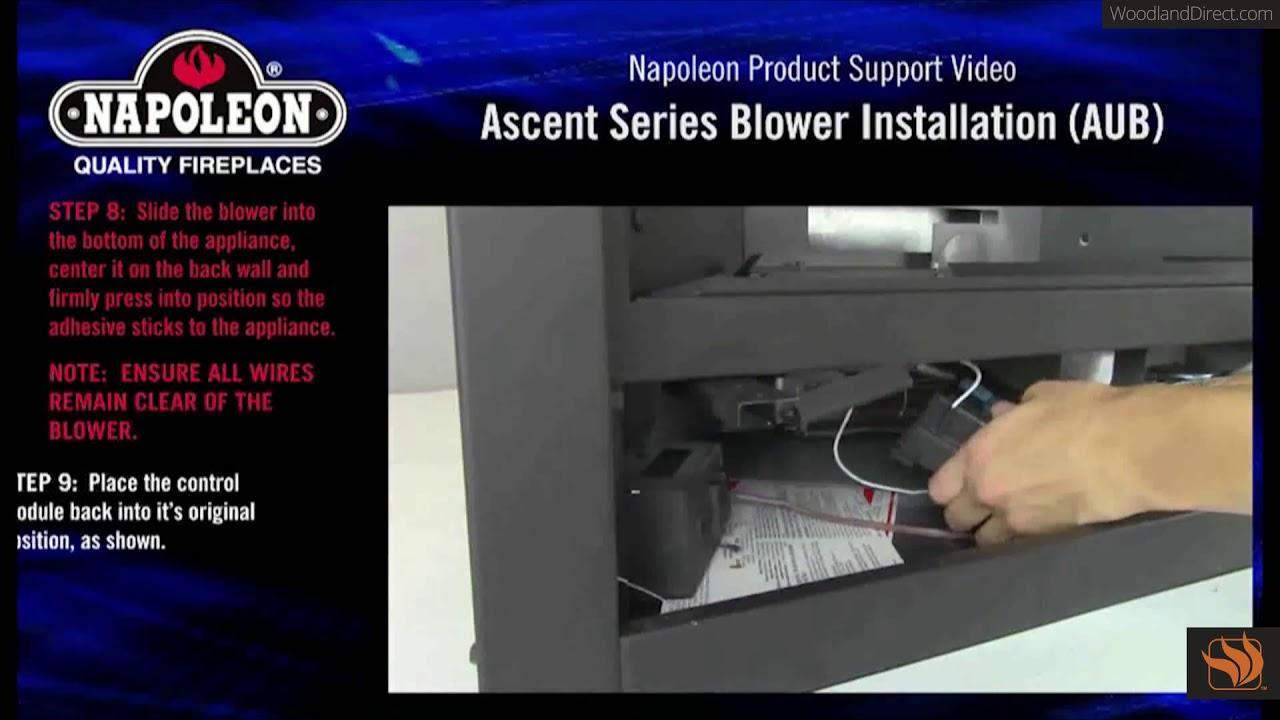 Napoleon Ascent Universal Blower Aub Installation Tutorial Youtube