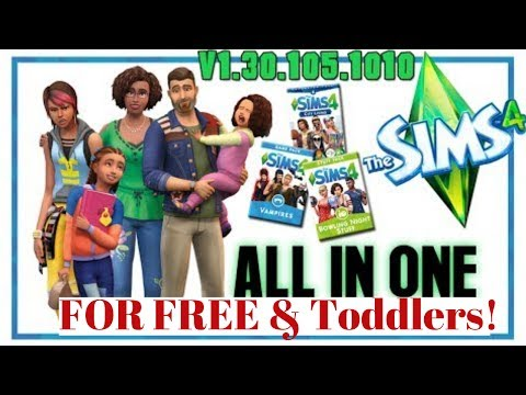 How To Get The Sims 4 Parenthood Pack FOR FREE INCLUDING ALL Previous DLC For Free [100% WORK] Voice