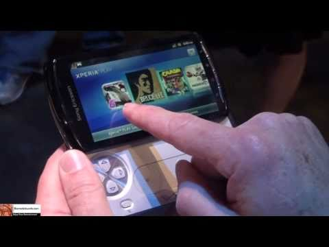 Sony Ericsson Xperia Play Hands--on @CTIA 2011