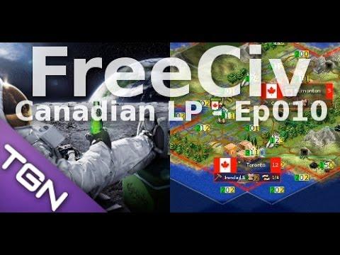 FreeCiv 2.4.0 [SDL Client] Canadian LP - Ep010