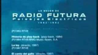 Radio Futura la negra flor