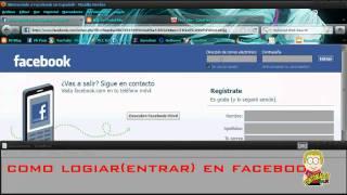 TontorialesMX - Como loguear en facebook