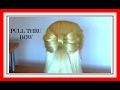 PULL THRU HAIR BOW HAIRSTYLE / HairGlamour Styles / Hairstyles