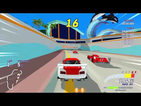 Hotshot Racing - Online Race - Ocean World (Mirrored) |