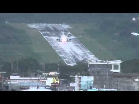 Airphil Express A320-200 Take-off at Tagbilaran City Airport