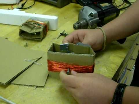 simple electric generator. Simple Electric Generator PT1