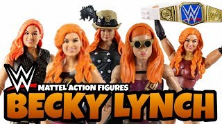 Every BECKY LYNCH WWE Action Figure From Mattel