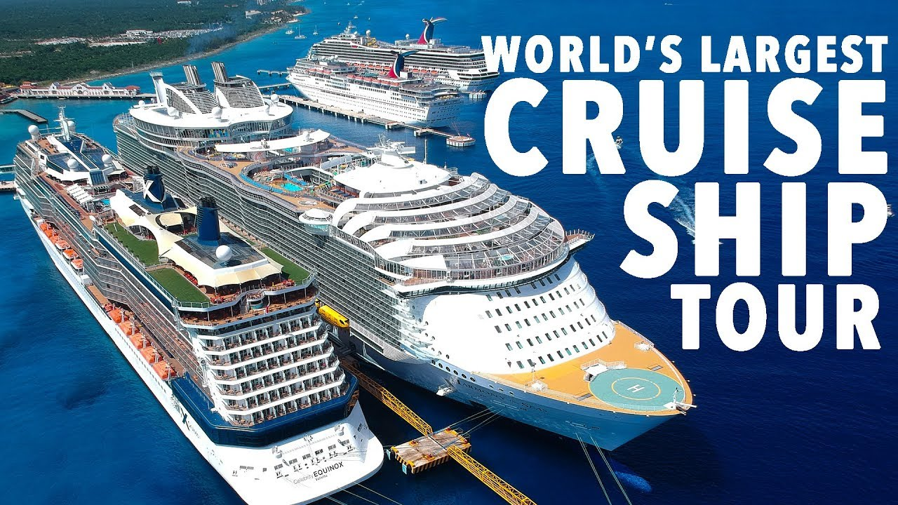 Worlds Largest Cruise Ship Tour HARMONY OF THE SEAS YouTube - Biggest cruise ships in history