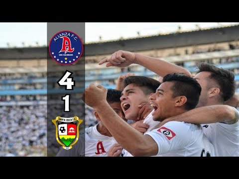 Alianza FC [4] vs Santa Tecla FC [1] +RADIO (Aranzamendi): Final ES Apertura 2017: 12.17.2017