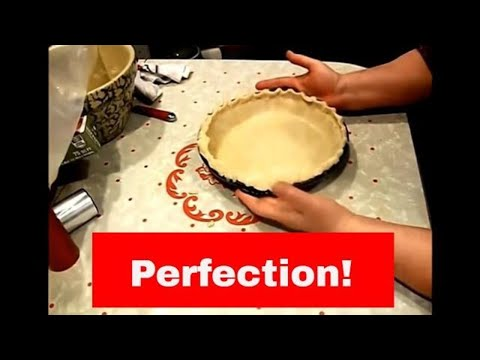 SUPER EASY OIL AND MILK PIECRUST, FLAKY AND DELICIOUS