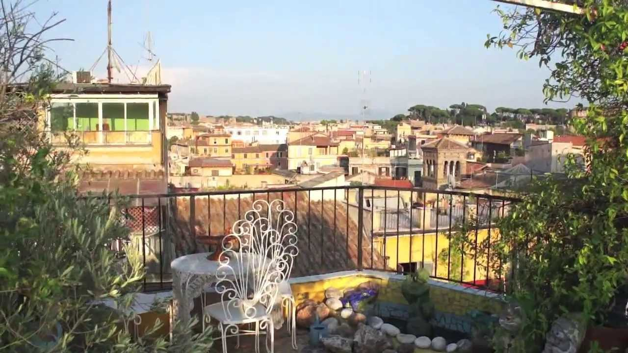 trastevere apartment for sale in rome centre with views of tiber river youtube - Rome Apartments