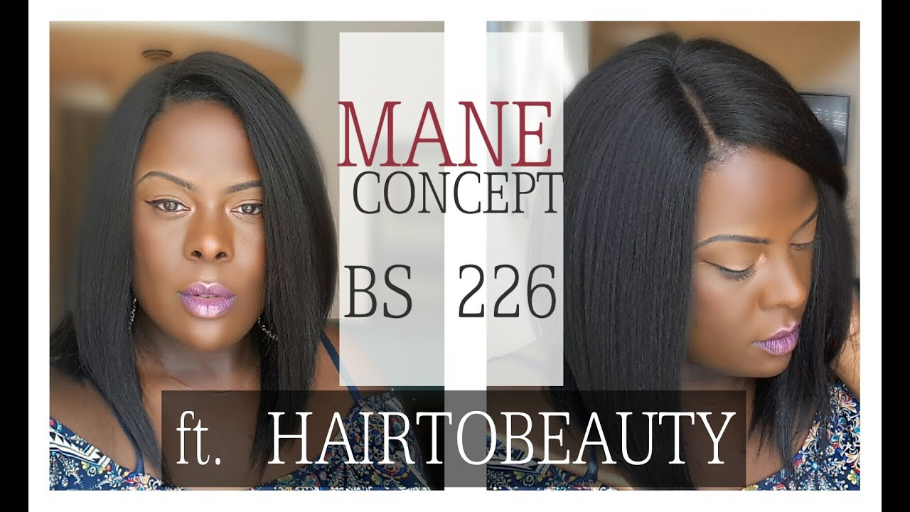 Mane Concept Brown Sugar Soft Swiss Lace Front Wig BS 226  001089d44363