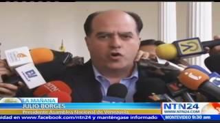 """Presidente del Parlamento venezolano: Colombia está """"absolutamente restado"""""""