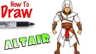 How to Draw Altair | Assassin