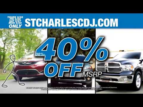 St Charles Chrysler Dodge Jeep Ram Memorial Day Sale Event 2017