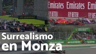 Por qué el fin de semana del Gran Premio de Italia fue esperpéntico - F1 2019 | Efeuno