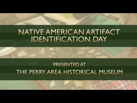 Native American Artifact Identification Day