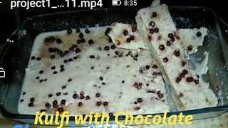 Kulfi with Chocolate
