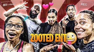 ZOOTED PARTY!! **Seven broke her foot, relay race** pt1