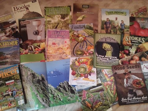 FREE Eco/Healthy Living Magazines and Seed Catalogs! (Links in description!)