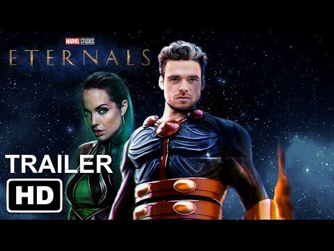Marvel's ETERNALS Teaser Trailer HD (2021)   Richard Madden, Angelina Jolie, Salma Hayek