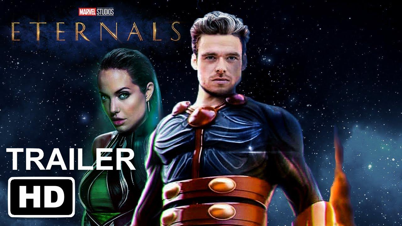 Marvel S Eternals Teaser Trailer Hd 2021 Richard Madden Angelina Jolie Salma Hayek Youtube