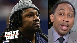 I love Marshawn Lynch, but he won't make much difference for the Seahawks - Stephen A. | First Take
