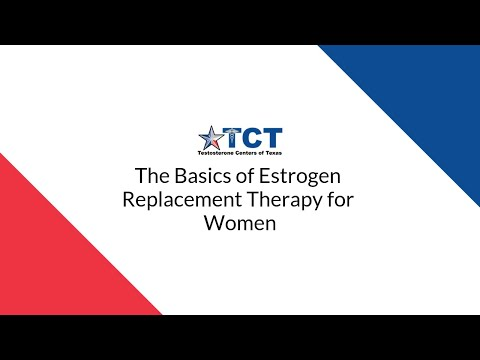 The Basics of Estrogen Replacement Therapy for Women