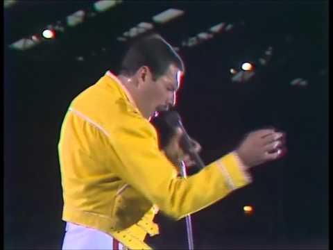 Freddie Mercury - Vocal Improvisation Day-O (Live At Wembley, First Night Show)