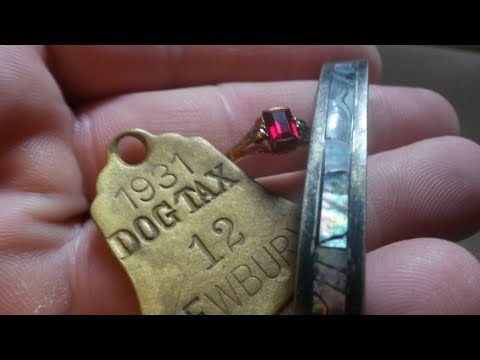 Beach Metal Detecting Equinox 800 Antique Gold Jewelry 1930'